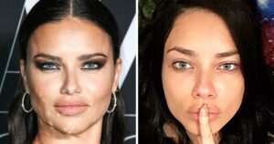 Híres nők sminkben és smink nélkül