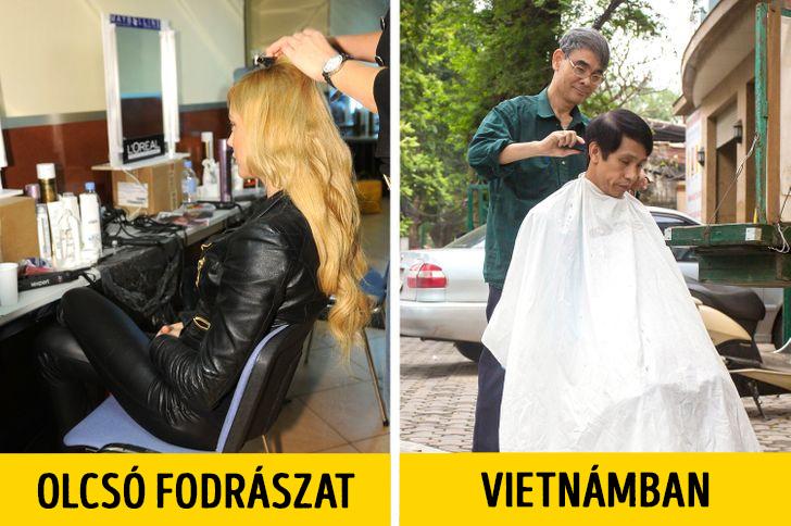 Vietnami fodraszat