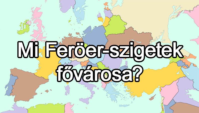 Feroer szigetek
