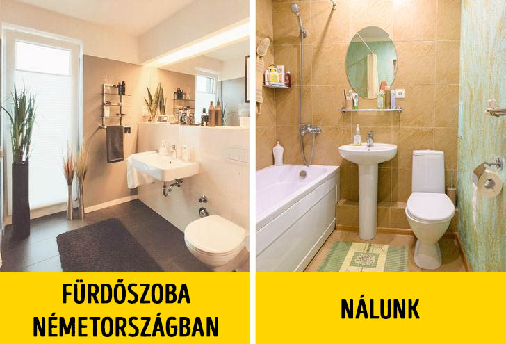 Fürdőszoba németországban