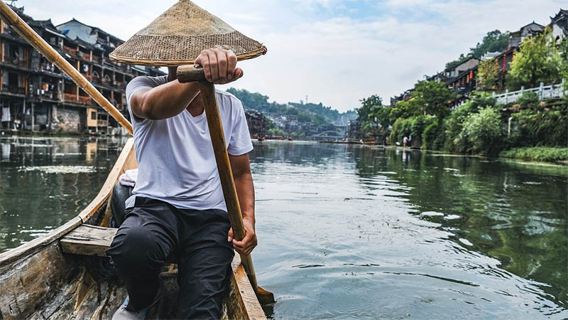 Kínai halász