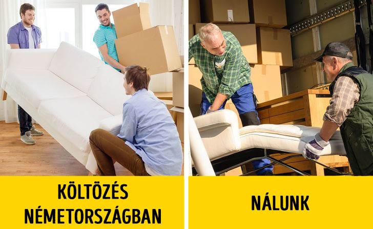 Költözés németországban