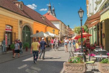Magyar város