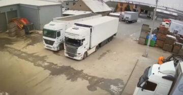 Parkolas kamion fail
