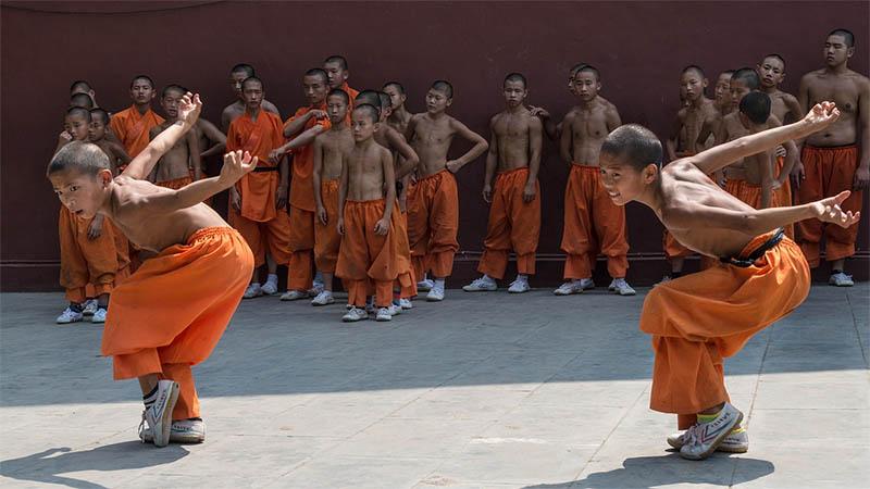 Shaolin kung fu kína