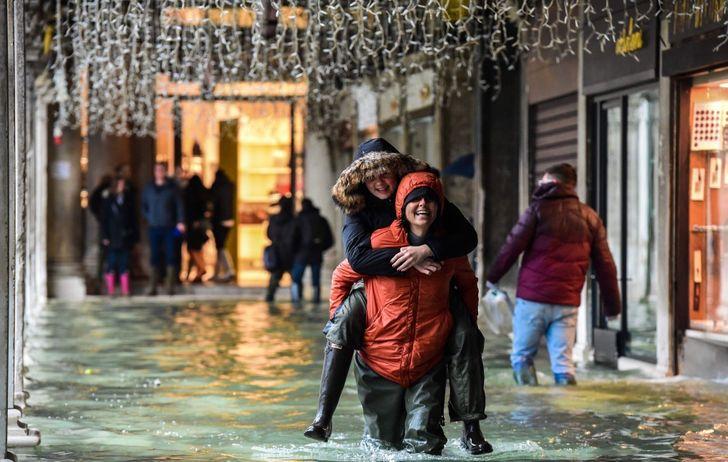 Velence áradás