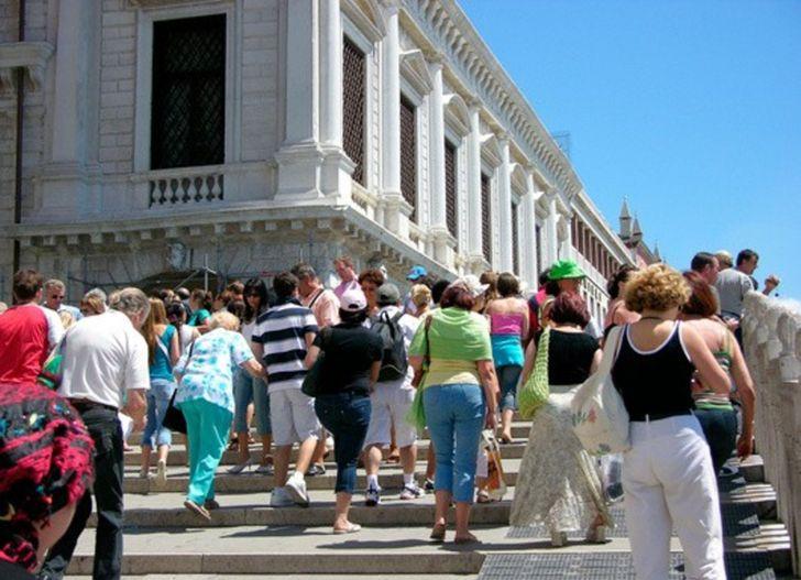 Velence turisták
