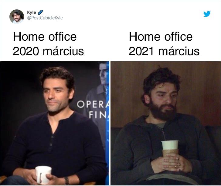 Home office március