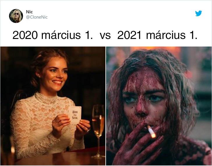 Március véres