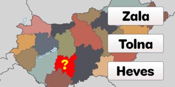 Megye kvíz Magyarország