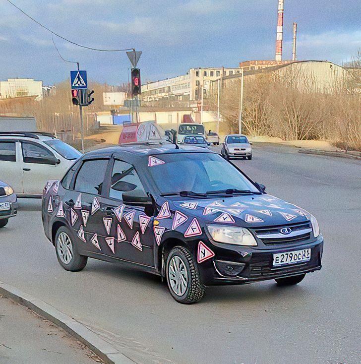Tanuló autó