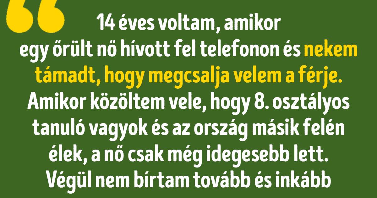 Vicces telefon történetek