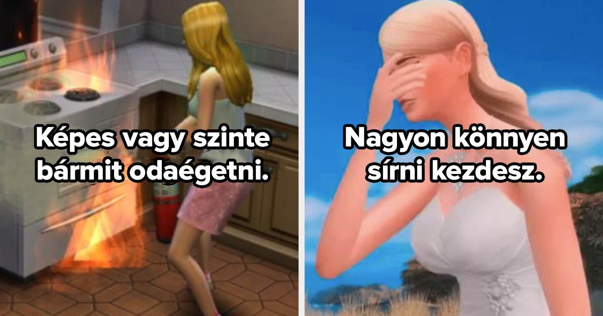 Sims karakter kvíz