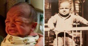 Újszülött csecsemők életkor családi fotók