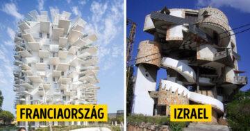Furcsa épületdizájnok