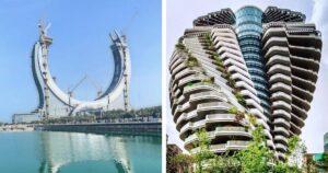 Futurisztikus építmények