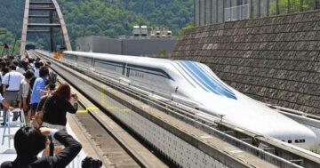 Leggyorsabb vonat L0 Maglev