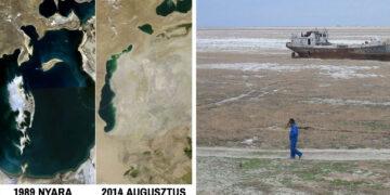 Miért szárad ki az aral tó