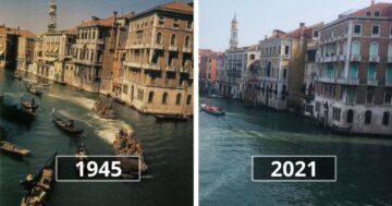 Turistalátványosságok akkor és most