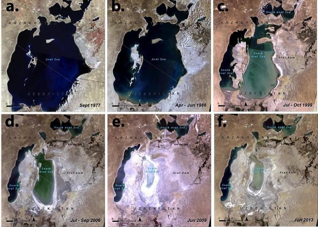 aral tó kiszáradás