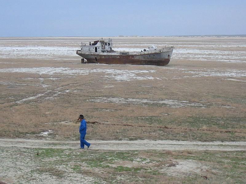 aral tó száradása