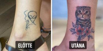 Előtte utána tetoválások