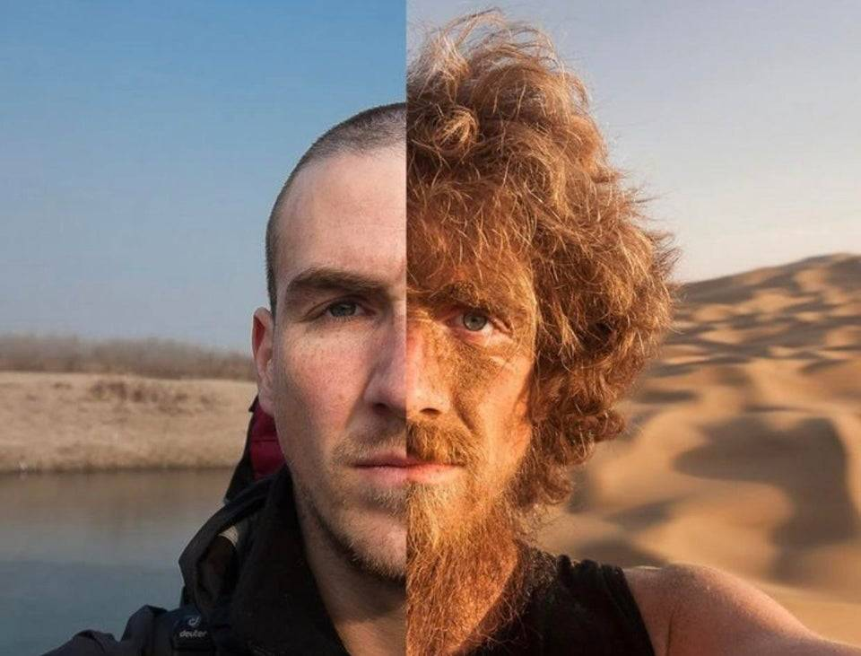 1624950449 before and after of a man who walked across china for a year