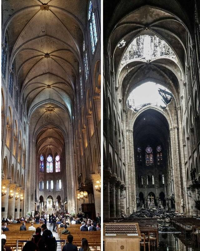1624950480 notre dame before and after the fire