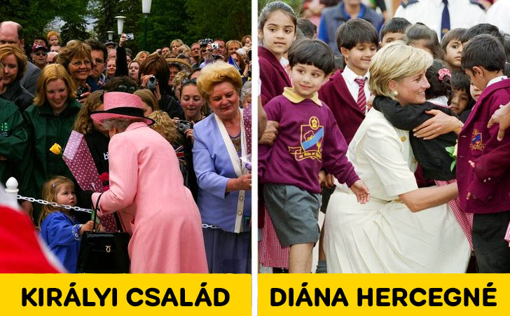 Diana hercegne gyerekekkel