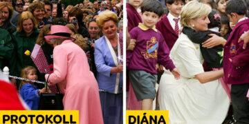 Diána hercegné szabályszegései