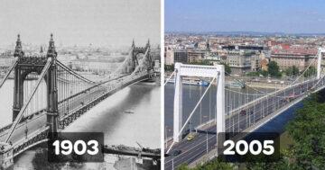 Ujjáépített történelmi épületek