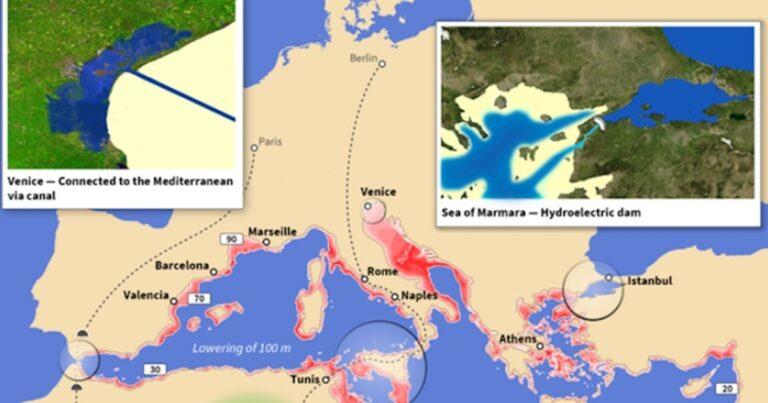 Így nézne ki Európa, ha megvalósulna a világ legösszetettebb építési projektje, az Atlantropa-projekt