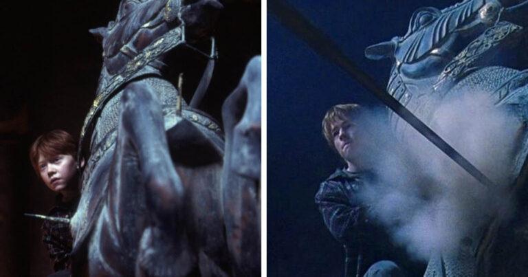 12 jelenet, amiben a színészeket dublőrökkel helyettesítették, de túlságosan észrevehető volt