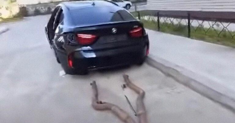 Valószínűleg láttál már feltört autót, de olyat még nem, mint ez az X6-os BMW