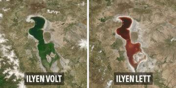 Föld változásai műholdfotókon