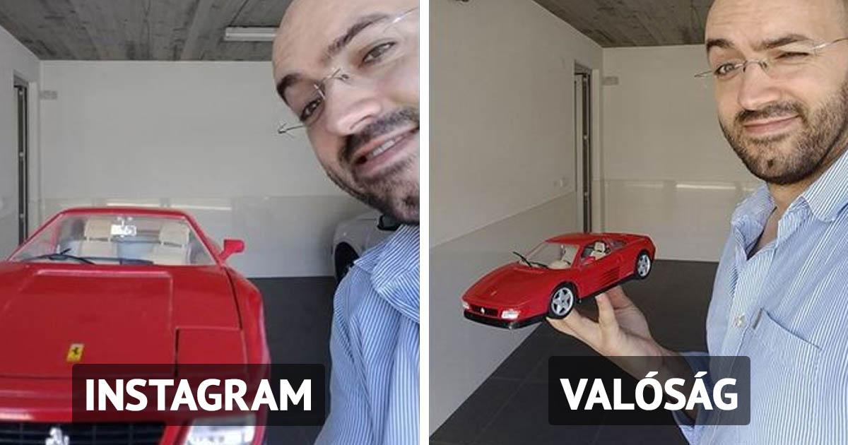 Instagram mögött rejlő valóságok