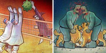 Iráni művész képregényei