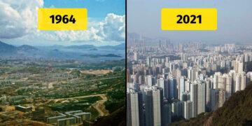 Kínai épületek fejlődése régen és most