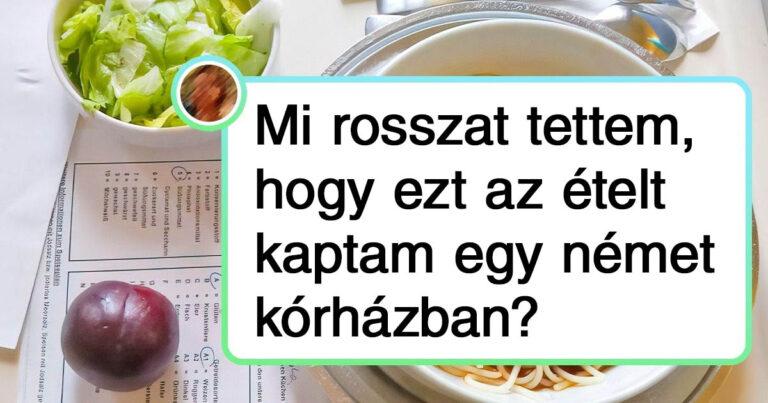 Az internetezők összegyűjtötték, hogy milyen ételeket kapnak a betegek a világ különböző kórházaiban