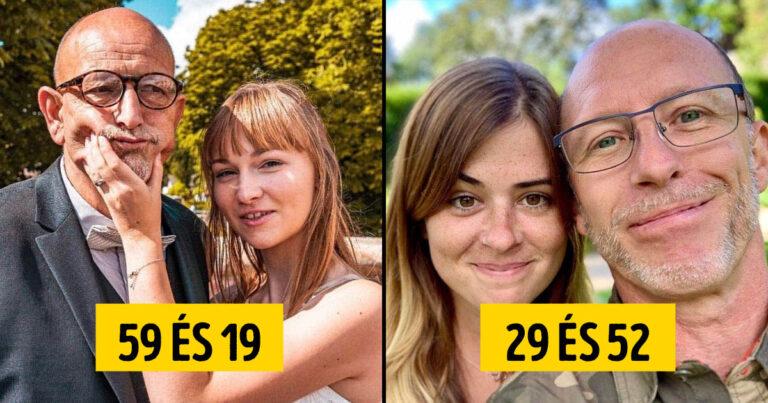 20+ pár, akik a hatalmas korkülönbség ellenére is hihetetlenül boldogok