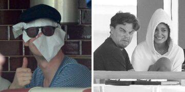 Paparazzik elől rejtőző hírességek