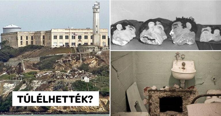 Szökés az Alcatrazból: zseniális terv vagy öngyilkos küldetés?