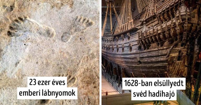 Történelmi leletek és felfedezések, amiktől libabőrös leszel: 13 fotó